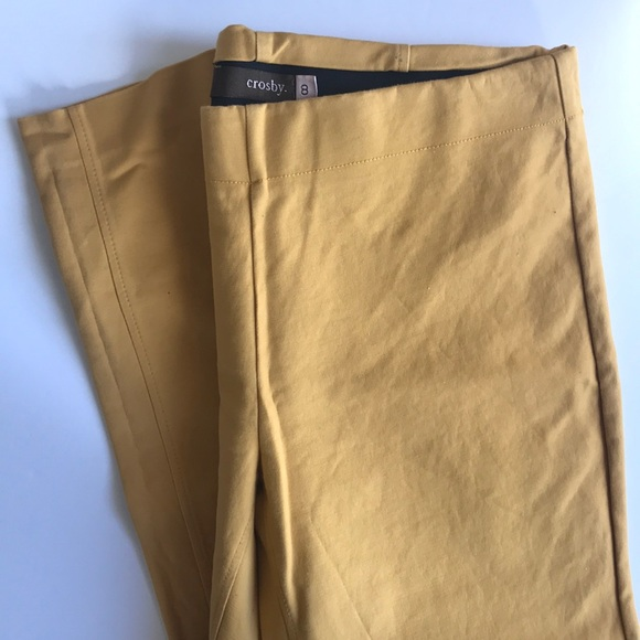 Crosby Size 8 Mustard Yellow Pullon